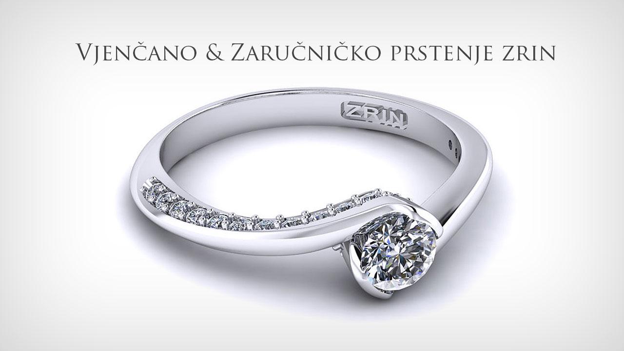 Zaručničko   Vjenčano prstenje Zrin Nakit f633af53a96