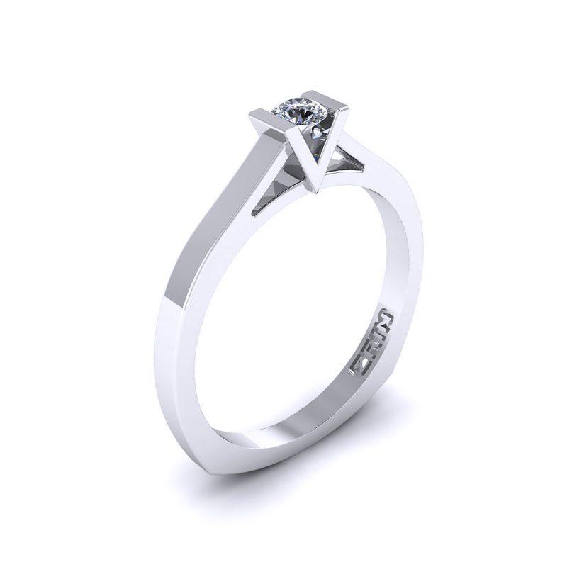 Zaručnički-prsten-platina-MODEL-038-BIJELO-1PHS