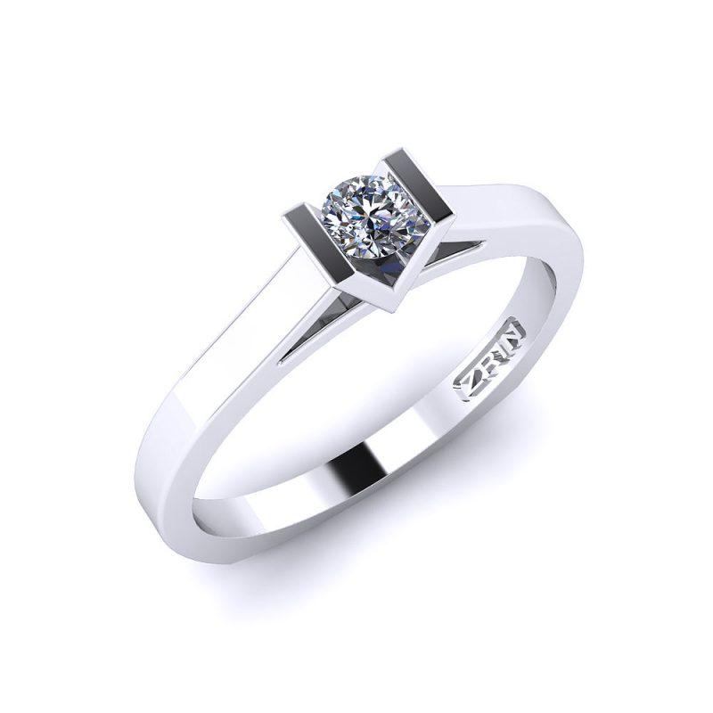 Zaručnički-prsten-platina-MODEL-038-BIJELO-3PHS