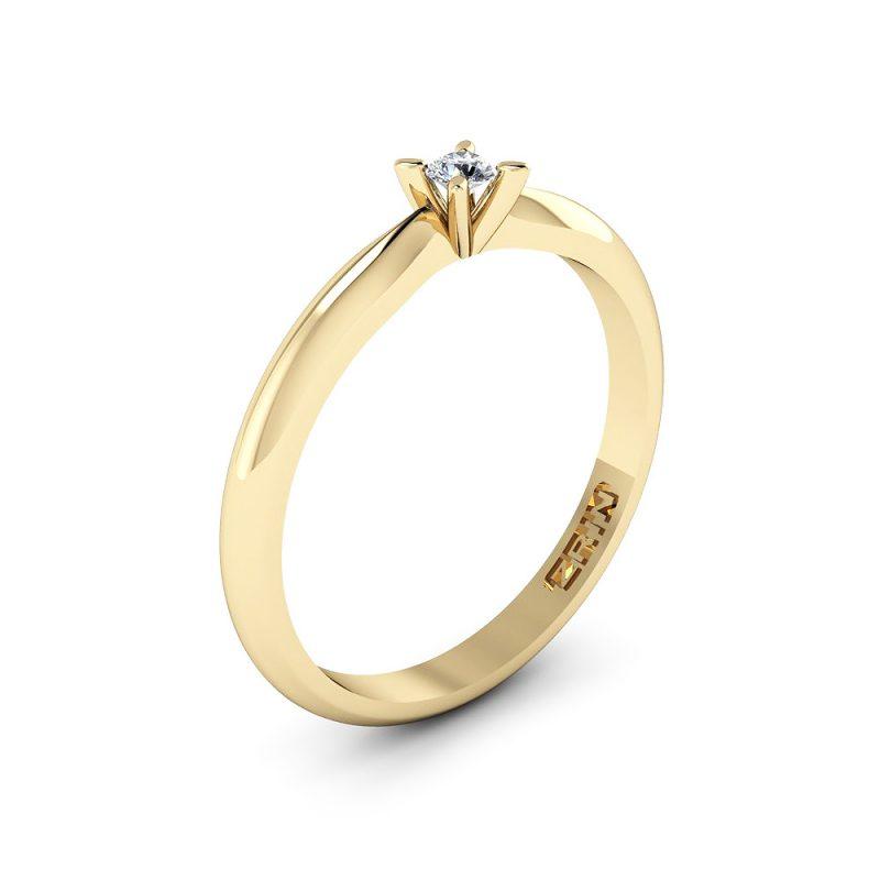 Zaručnički-prsten-MODEL-178-ŽUTO-1PHS