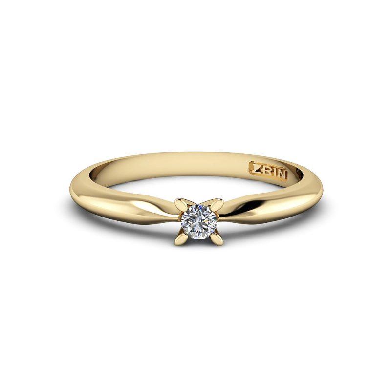 Zaručnički-prsten-MODEL-178-ŽUTO-2PHS