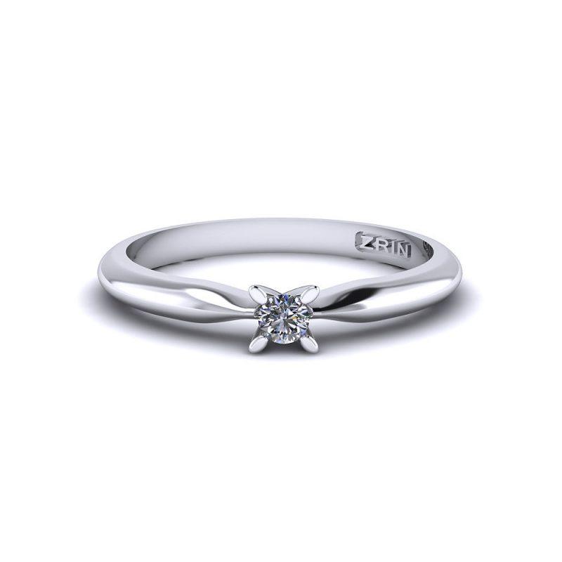 Zaručnički-prsten-platina-MODEL-178-BIJELO-2PHS