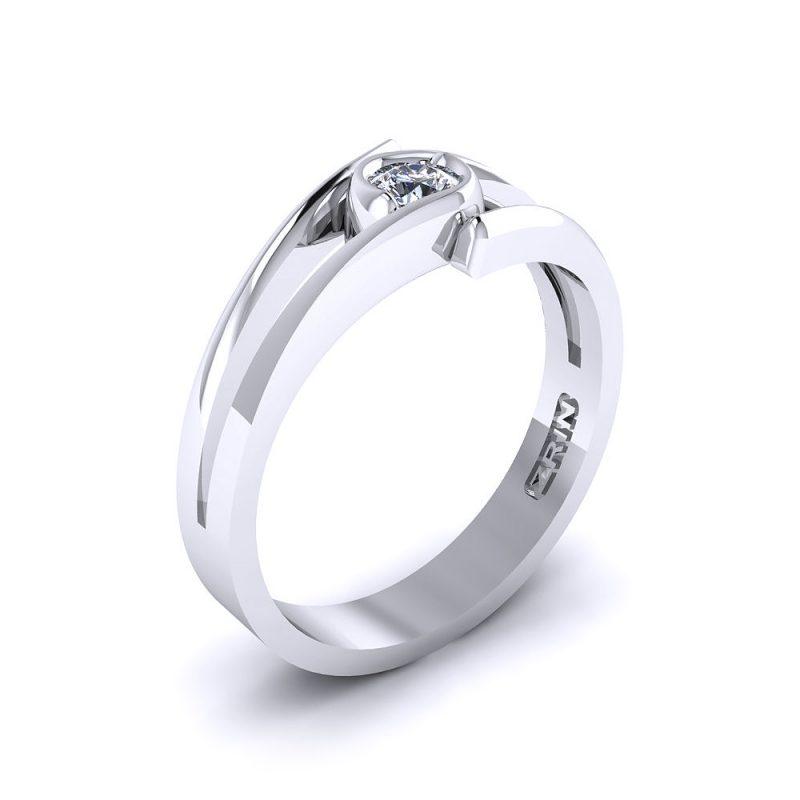 Zarucnicki-prsten-platina-MODEL-014-BIJELO-1PHS