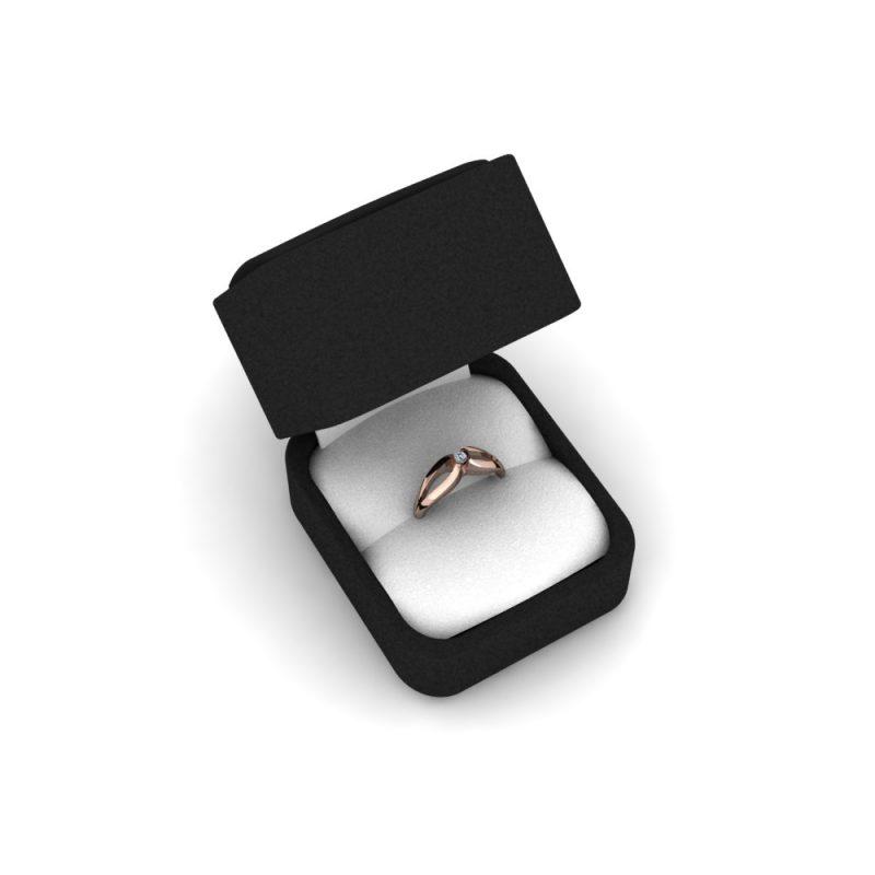 Zarucnicki-prsten MODEL 021-1 CRVENO-4
