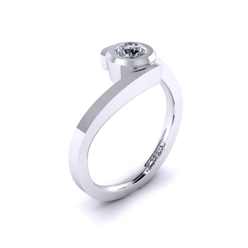 Zarucnicki-prsten-platina-MODEL 026 BIJELO-1PHS