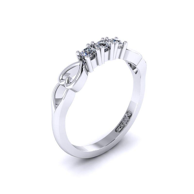 Zarucnicki-prsten-platina-MODEL 027 BIJELO-1PHS