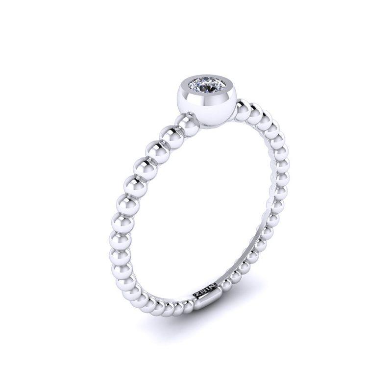 Zarucnicki-prsten MODEL 028 CRVENO-4