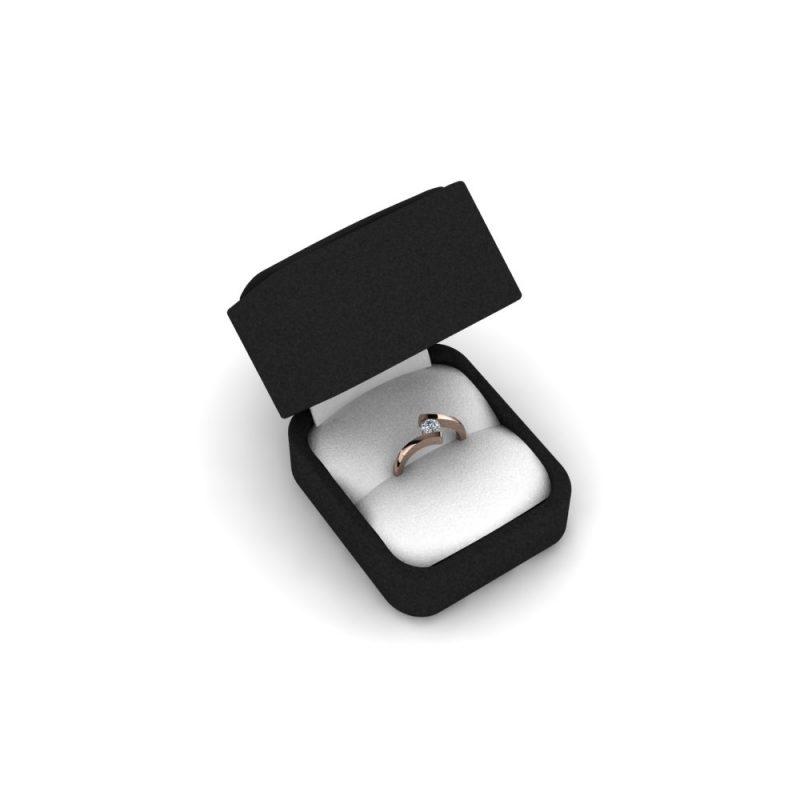 Zarucnicki-prsten MODEL 031-1 CRVENO-4