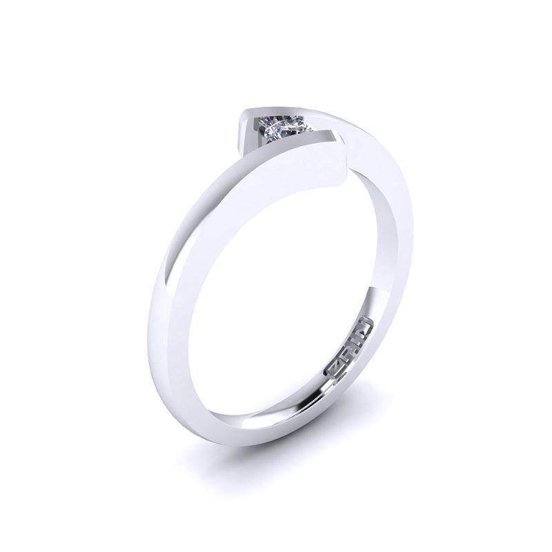 Zarucnicki-prsten-platina-MODEL-031-BIJELO-1PHS
