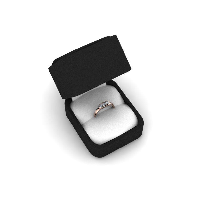 Zarucnicki-prsten MODEL 153 CRVENO-4
