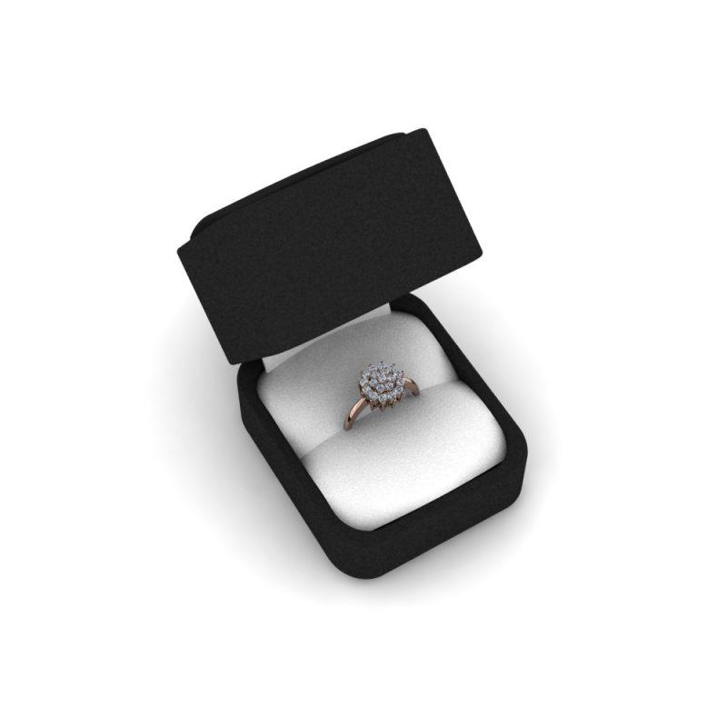 Zarucnicki-prsten MODEL 173 CRVENO-4