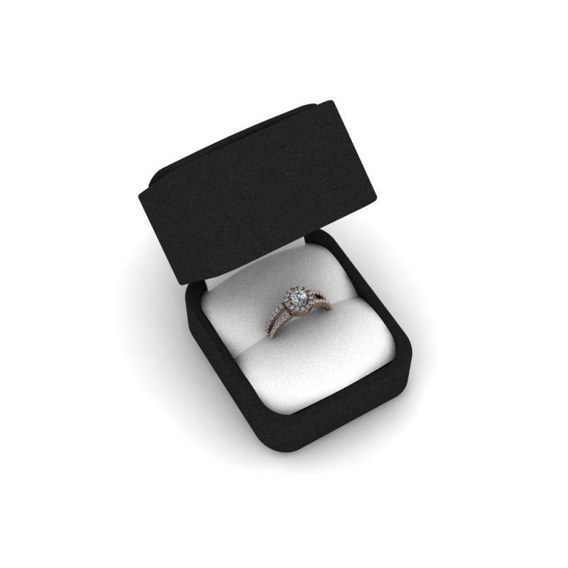Zarucnicki-prsten MODEL 176 CRVENO-4
