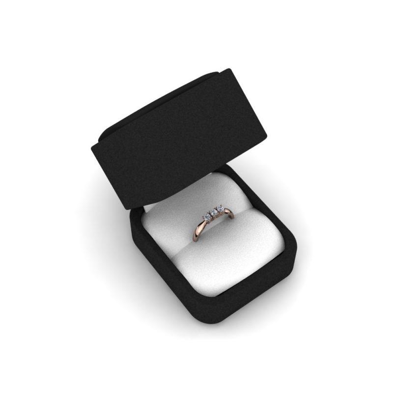 Zarucnicki-prsten MODEL 266 CRVENO-4