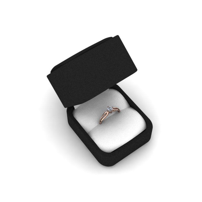 Zarucnicki-prsten MODEL 268-1 CRVENO-4