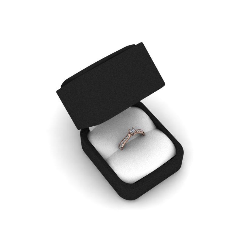 Zarucnicki-prsten MODEL 277-1 CRVENO-4