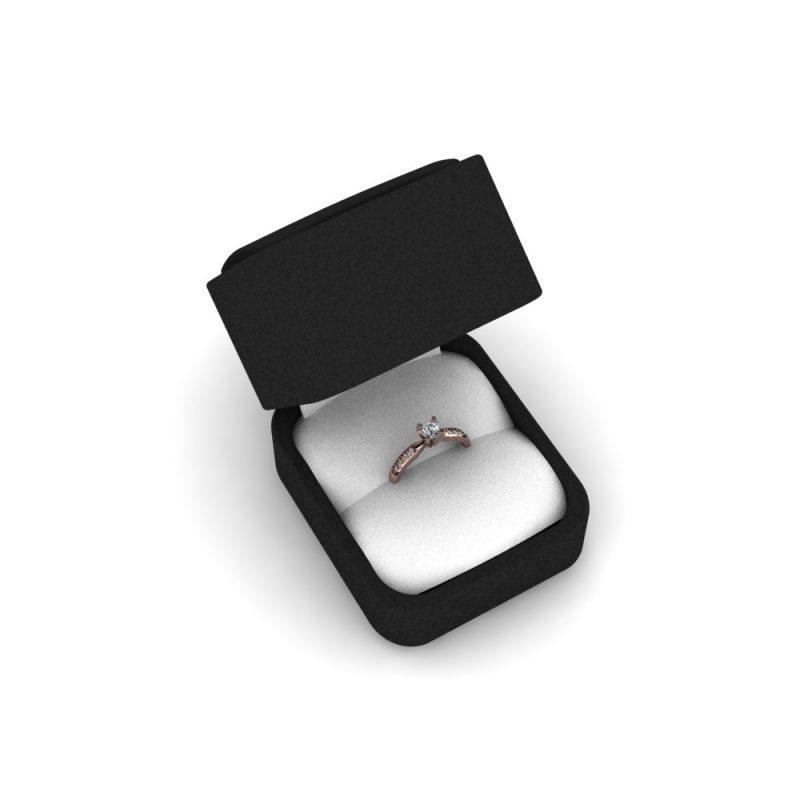 Zarucnicki-prsten MODEL 306 CRVENO-4