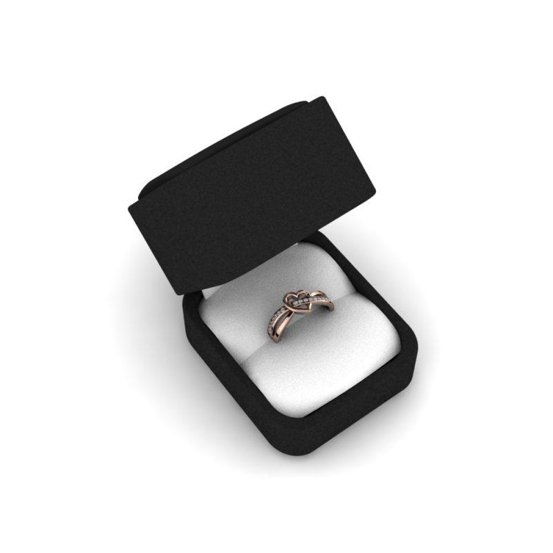 Zarucnicki-prsten MODEL 368 CRVENO-4