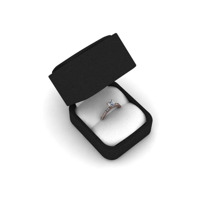 Zarucnicki-prsten MODEL 452 CRVENO-4