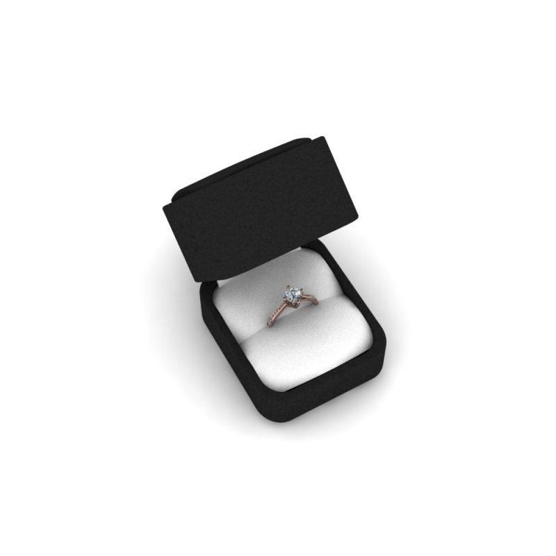 Zarucnicki-prsten MODEL 457-1 CRVENO-4