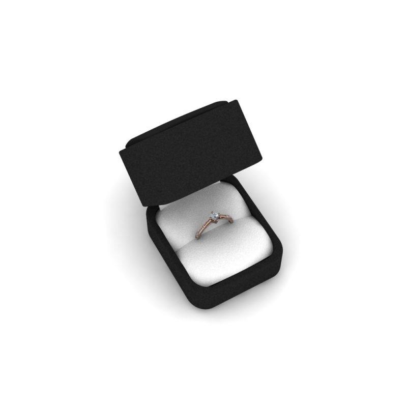 Zarucnicki-prsten MODEL 457 CRVENO-4