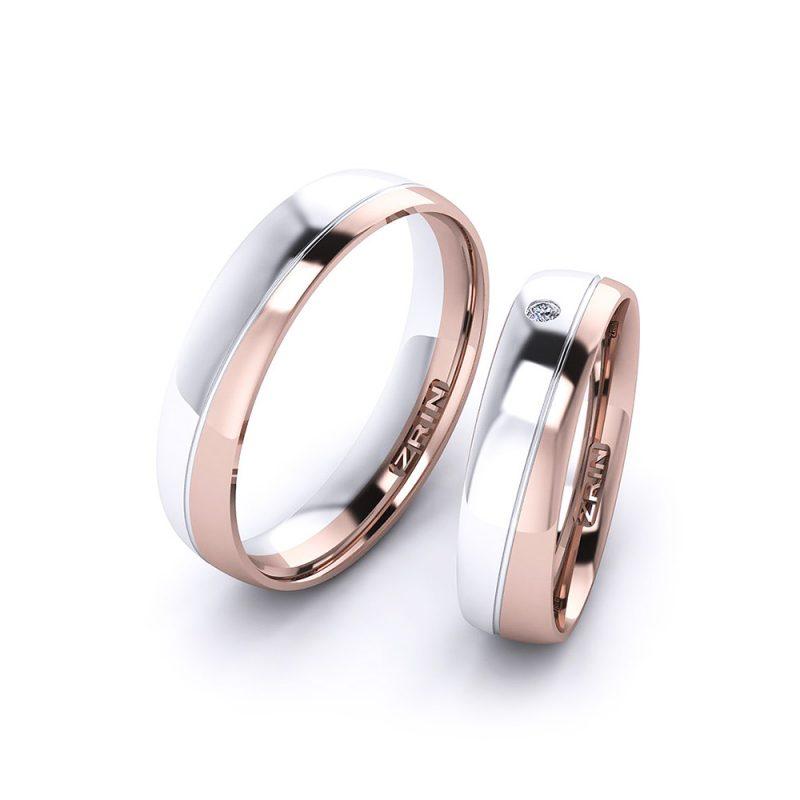 Vjenčano prstenje VP-ZR 21004 B-C