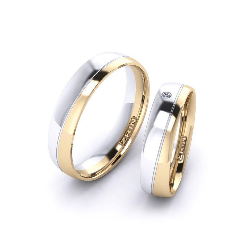 Vjenčano prstenje VP-ZR 21004 B-Z