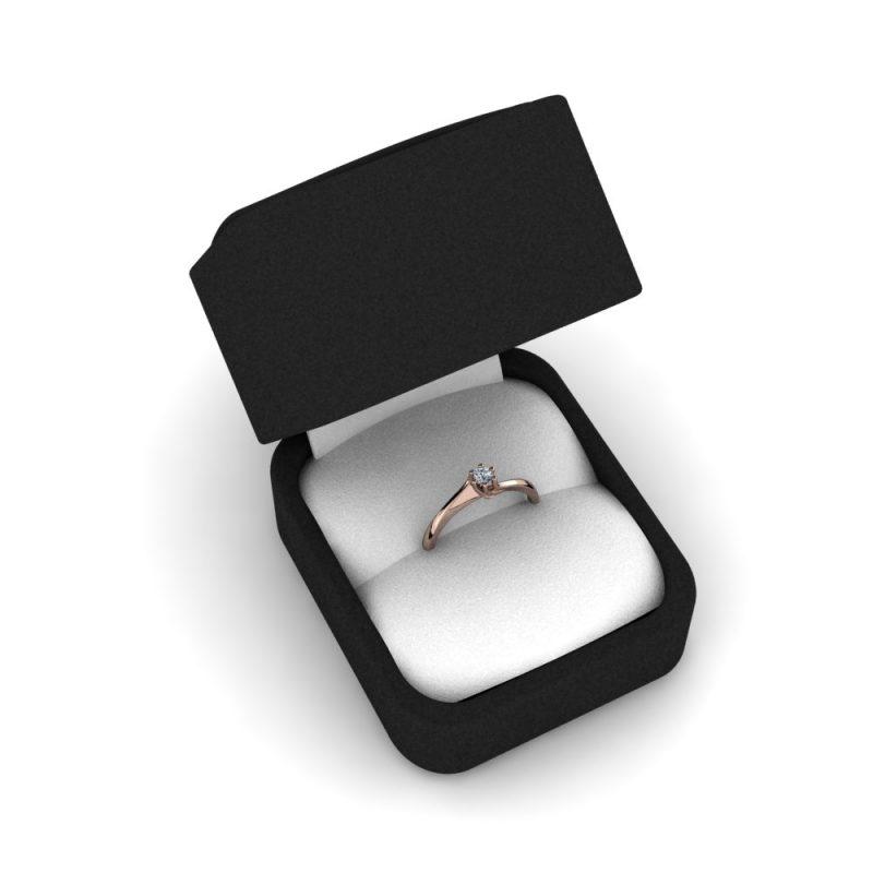Zarucnicki-prsten MODEL 407 CRVENO-4