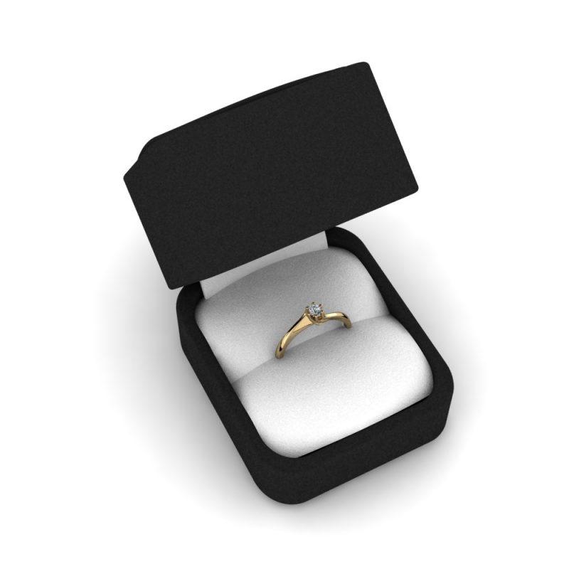 Zarucnicki-prsten MODEL 407 ZUTO-4