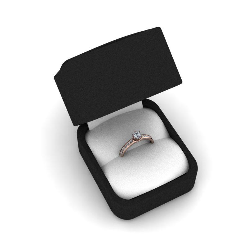 Zarucnicki-prsten MODEL 409-1 CRVENO-4