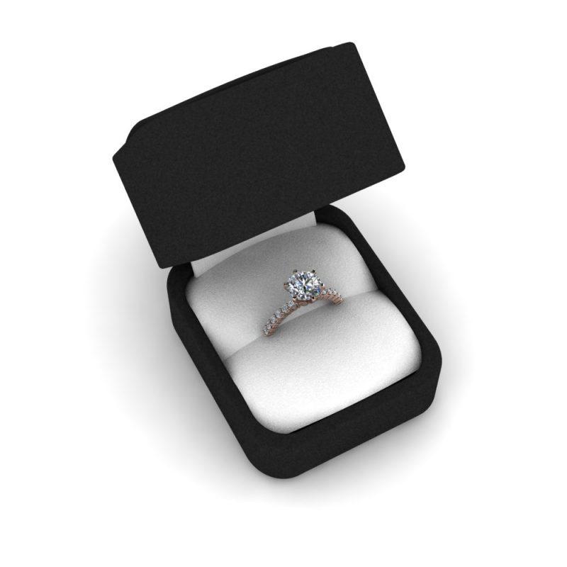 Zarucnicki-prsten MODEL 426 A CRVENO-4