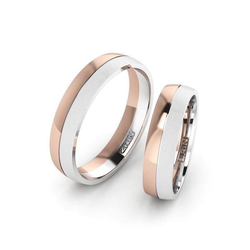 Vjenčano prstenje VP-ZR 2185 PJES B-C