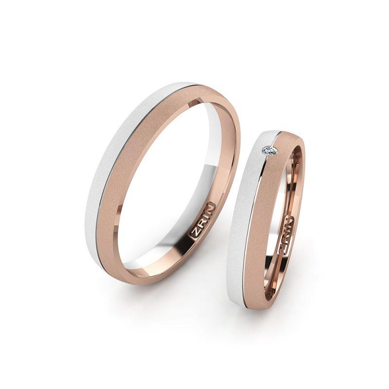 Vjenčano prstenje VP-ZR 2480 PJES B-C