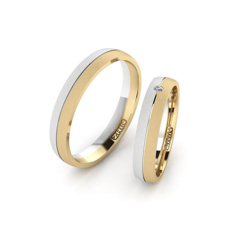 Vjenčano prstenje VP-ZR 2480 PJES B-Z