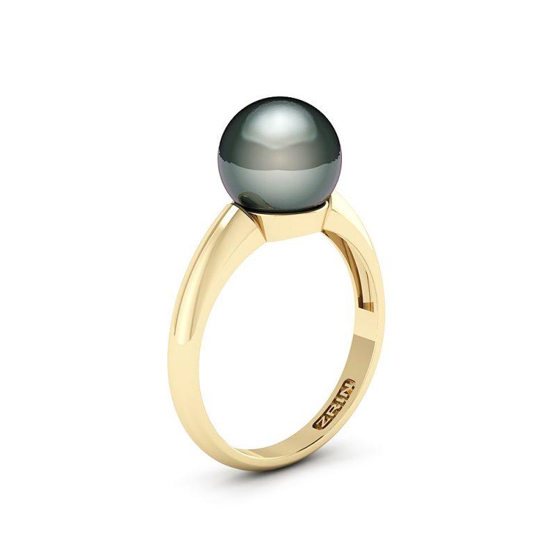 Zarucnicki-prsten-CRNI-BISER-001-1-ZUTO-1