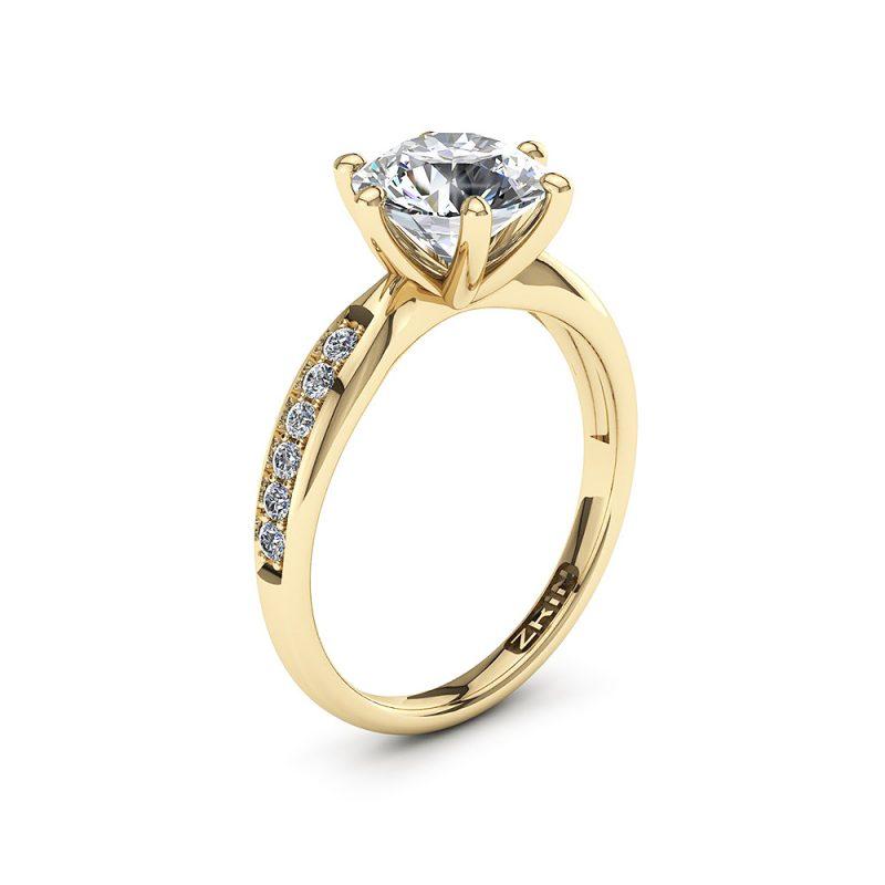 ZRIN-Zarucnicki-prsten-MODEL-493-ZUTO-ZLATO-PHS-1
