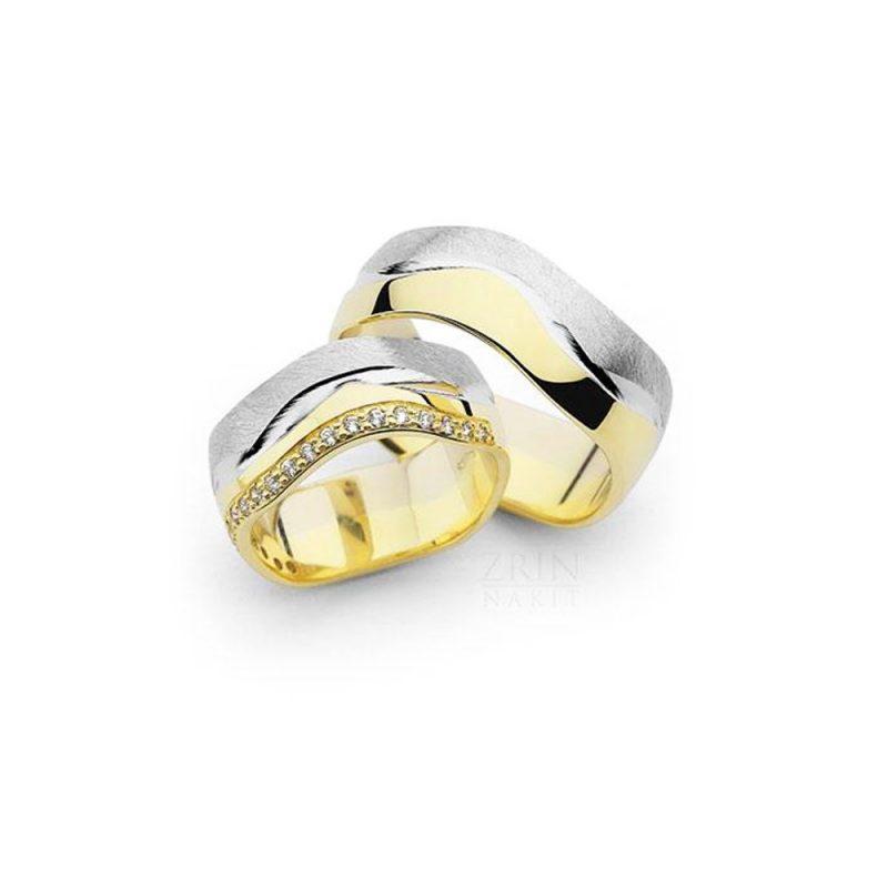 Vjenčano prstenje VP-ZR 27036