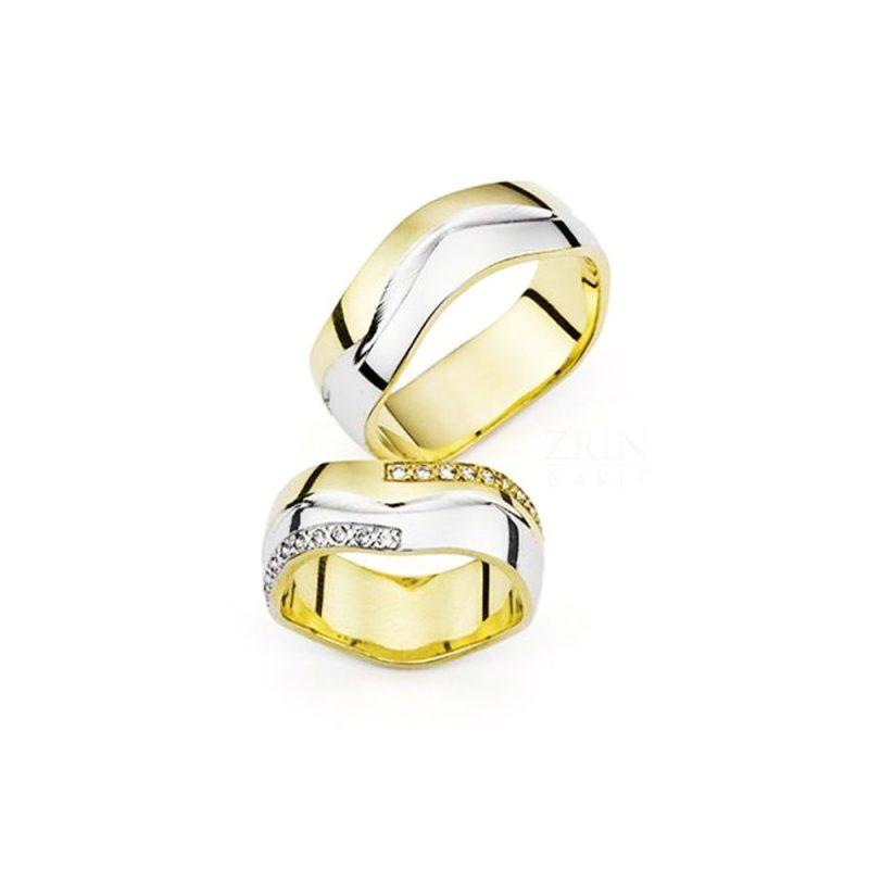 Vjenčano prstenje VP-ZR 27046